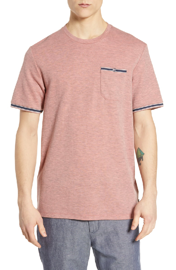 Ted Baker Khaos Slim Fit T-Shirt In Pink