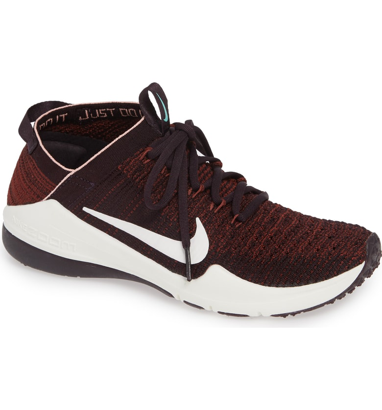 ac00f4cc6d1 Nike Air Zoom Fearless Flyknit 2 Training Sneaker In Burgundy  Pueblo Brown- Pink