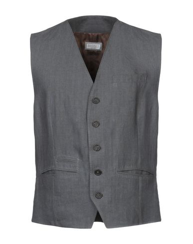 Brunello Cucinelli Suit Vest In Lead
