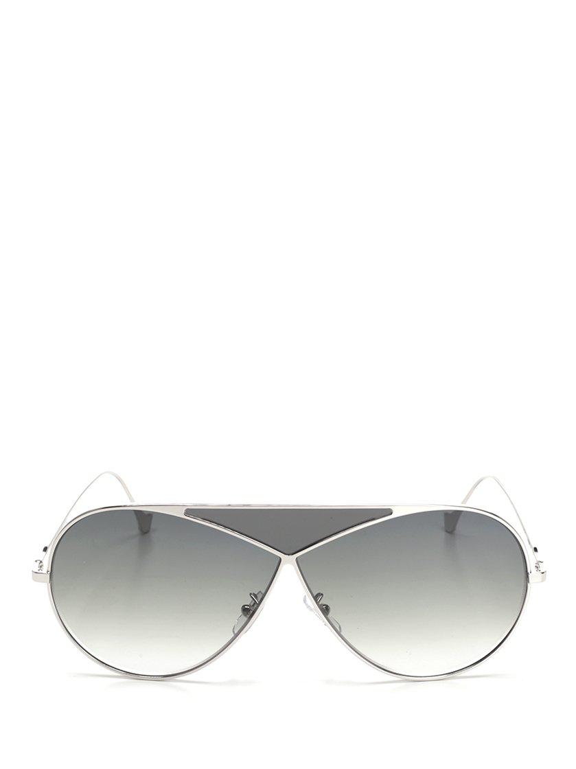 43114079747 Loewe Puzzle Pilot Frame Sunglasses In Grey. CETTIRE