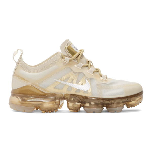 d6df4d8c73 Nike Women's Air Vapormax 2019 Running Shoes, White In Cream | ModeSens