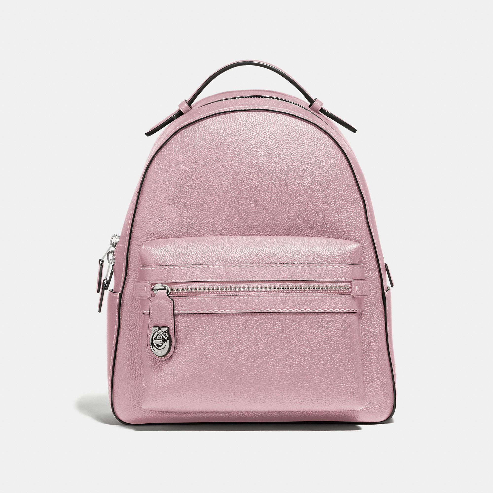 1ec1e3845 Coach Campus Backpack In Blossom/Silver | ModeSens