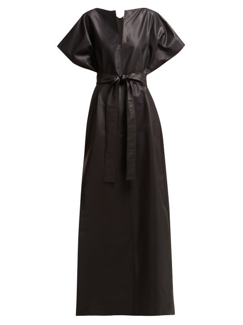 Givenchy Silk Blend Faille Gown In Black