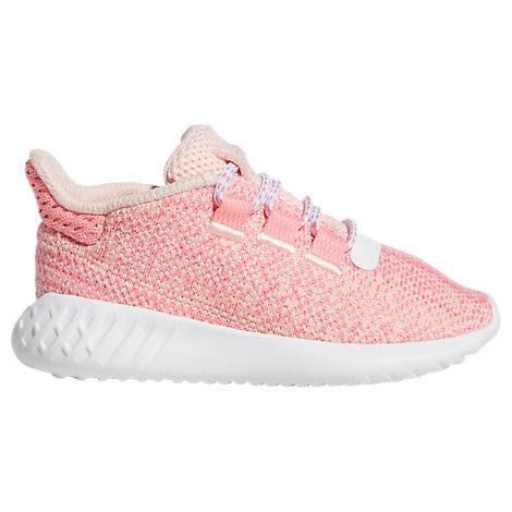finest selection 38798 42af4 Plusgirls' Toddler Tubular Dusk Running Shoes, Pink - Size 4.0