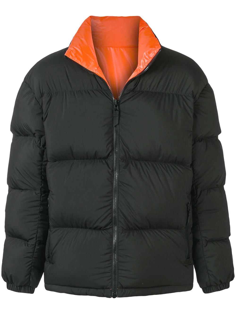 c1def48188f2 Nike Lab Reversible Black And Orange Down Nrg Puffer Jacket