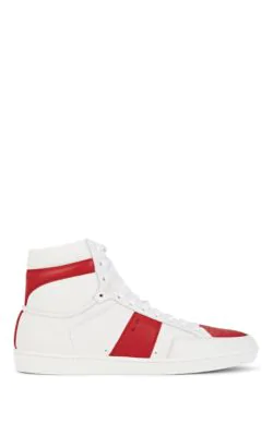 6a0d4b66 Saint Laurent Sl/10H Signature Court Classic High-Top Sneaker In ...