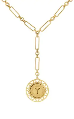 74bff36357d415 Brinker & Eliza In A Ny Minute Necklace - Gold | ModeSens