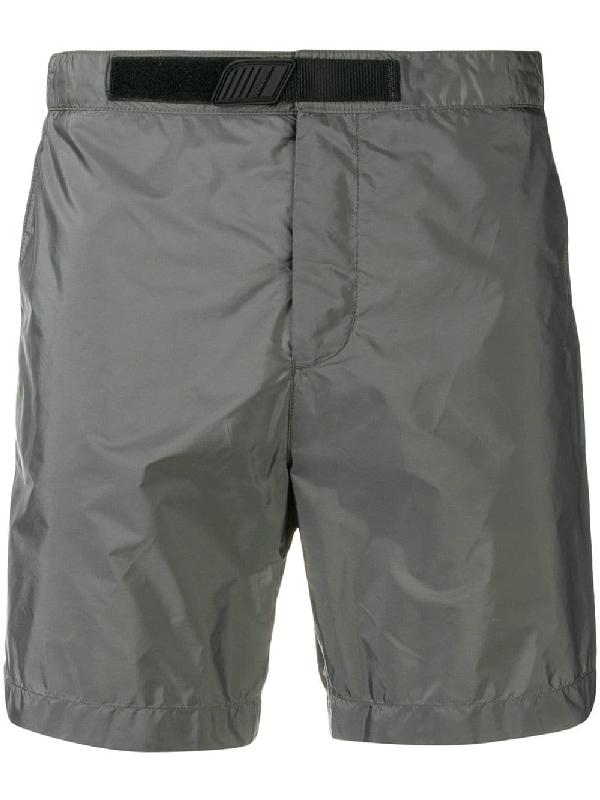 d1c3b7cf4b0ac Prada Touch Strap Swim Shorts In Grey | ModeSens