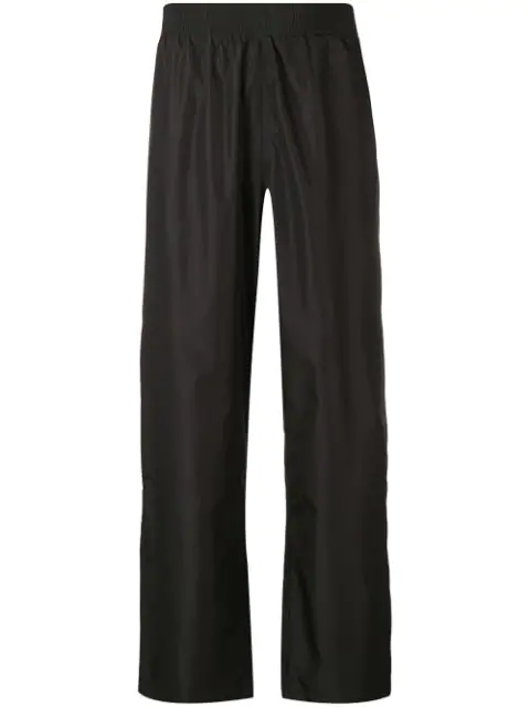 Our Legacy Wide-Leg Trousers In Black