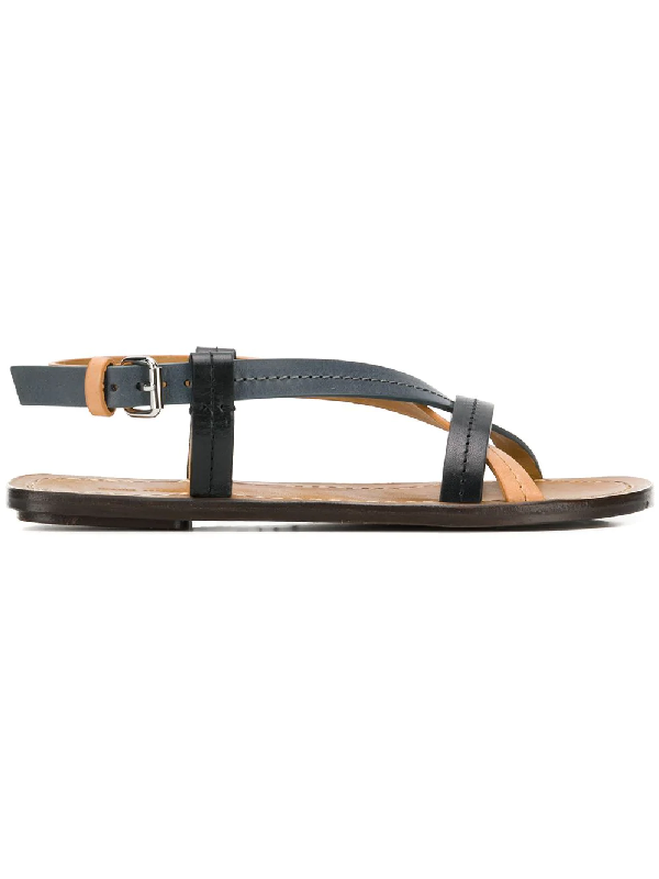 a8f7dc6a1 Isabel Marant Jalmee Sandal In Black/Natural | ModeSens