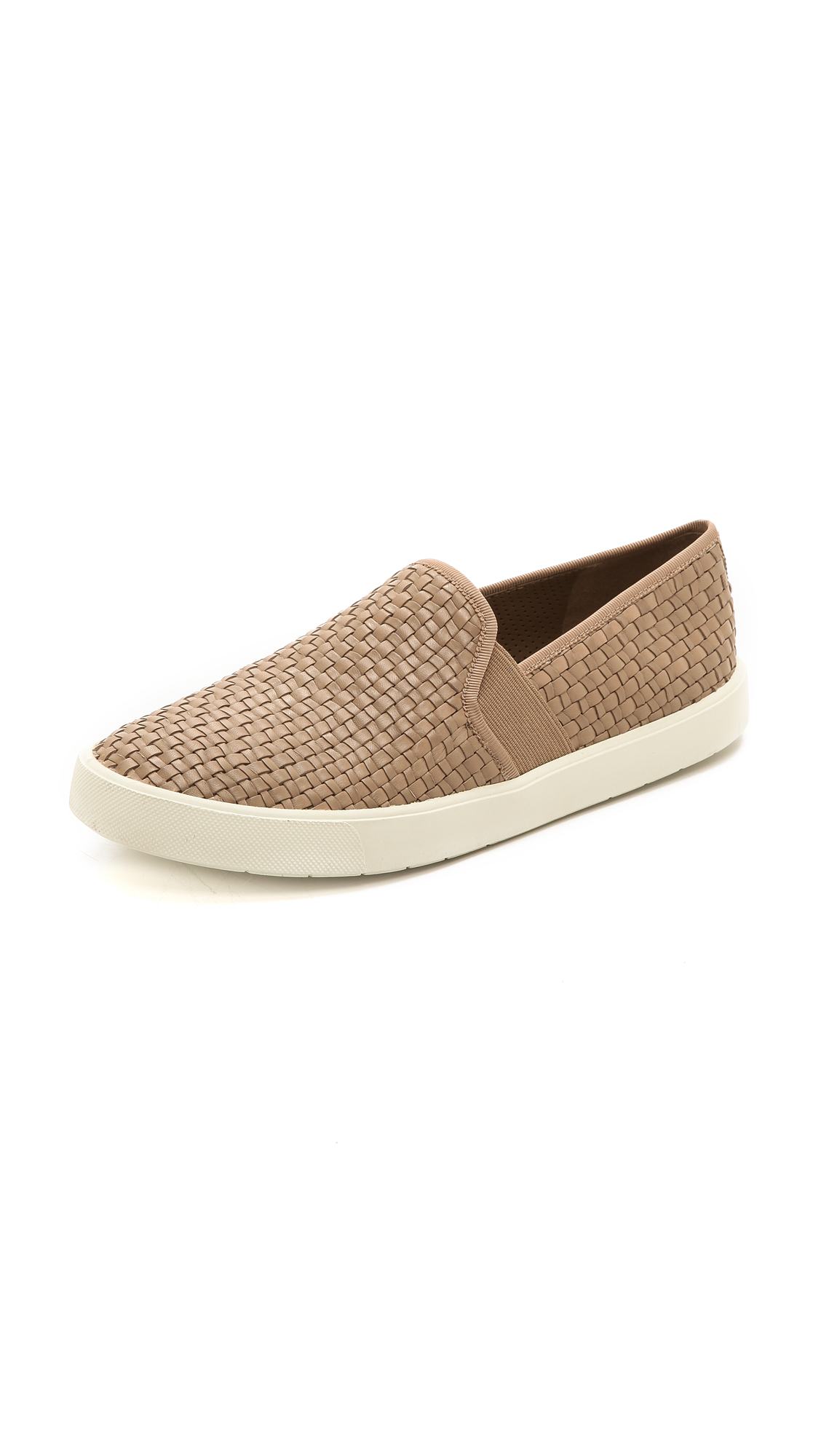 Vince Berlin Calf Hair Slip-On Sneaker, Twilight, Taupe