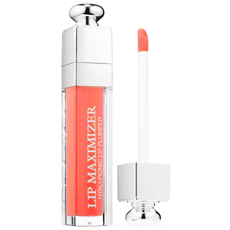 Dior Addict Lip Maximizer Plumping Gloss 004 Coral 0.2 Oz/ 6 Ml In 004 Coral/ Glow