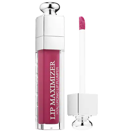 Dior Addict Lip Maximizer Plumping Gloss 006 Berry 0.2 Oz/ 6 Ml In 006 Berry/ Glow