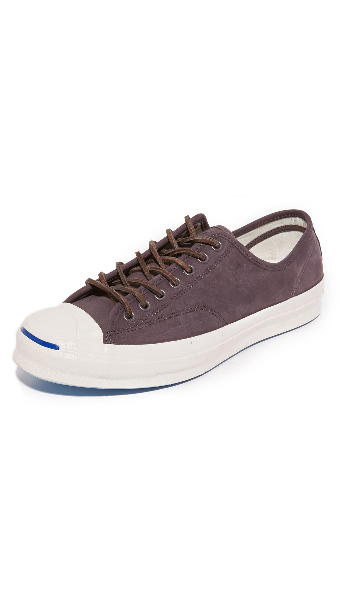 59c58f1255cb Converse Jack Purcell Signature Nubuck Sneakers In Dusk Grey Dusk Grey Egret