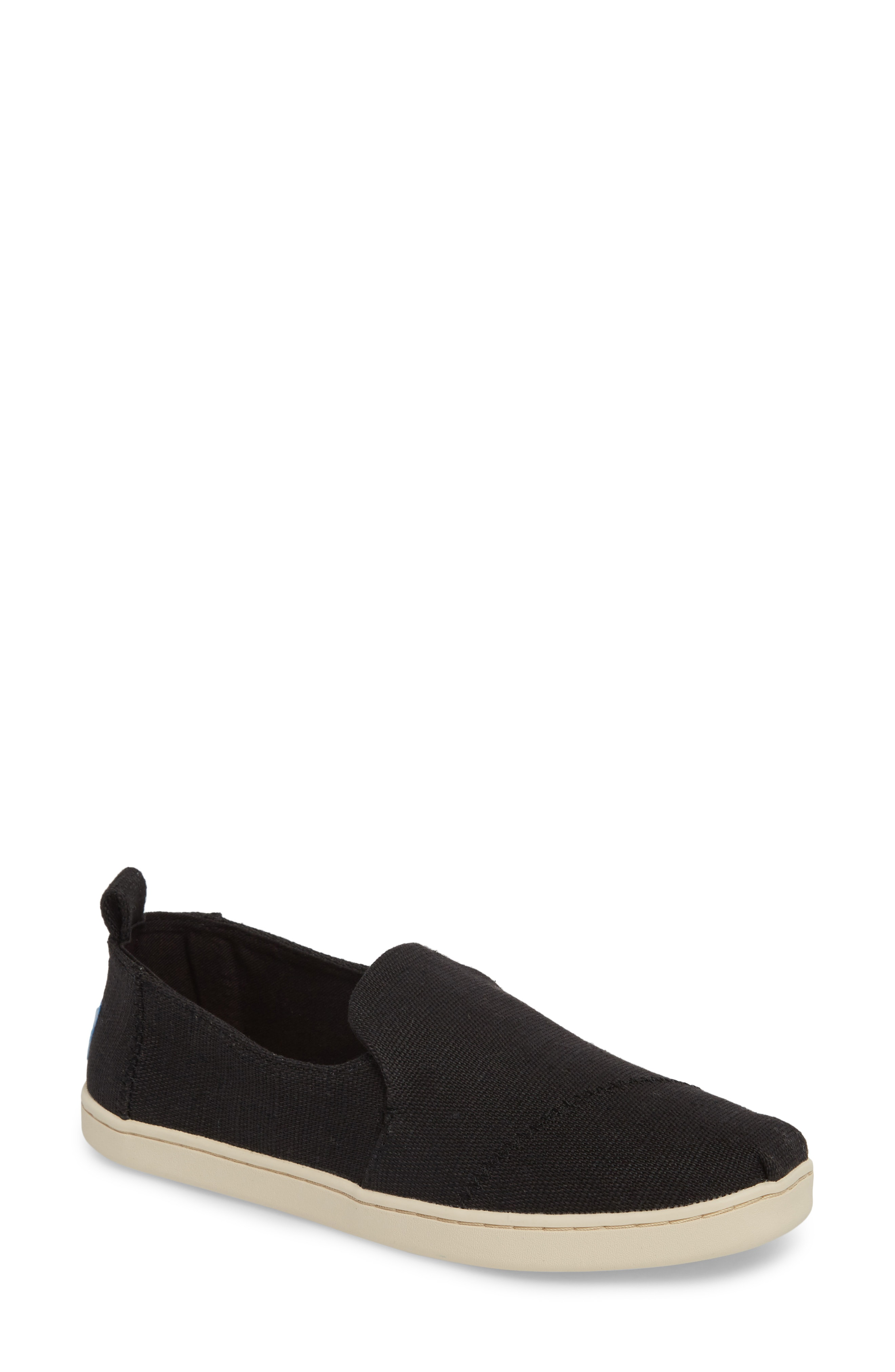 size 40 best place store Deconstructed Alpargata Slip-On in Black Heritage Canvas