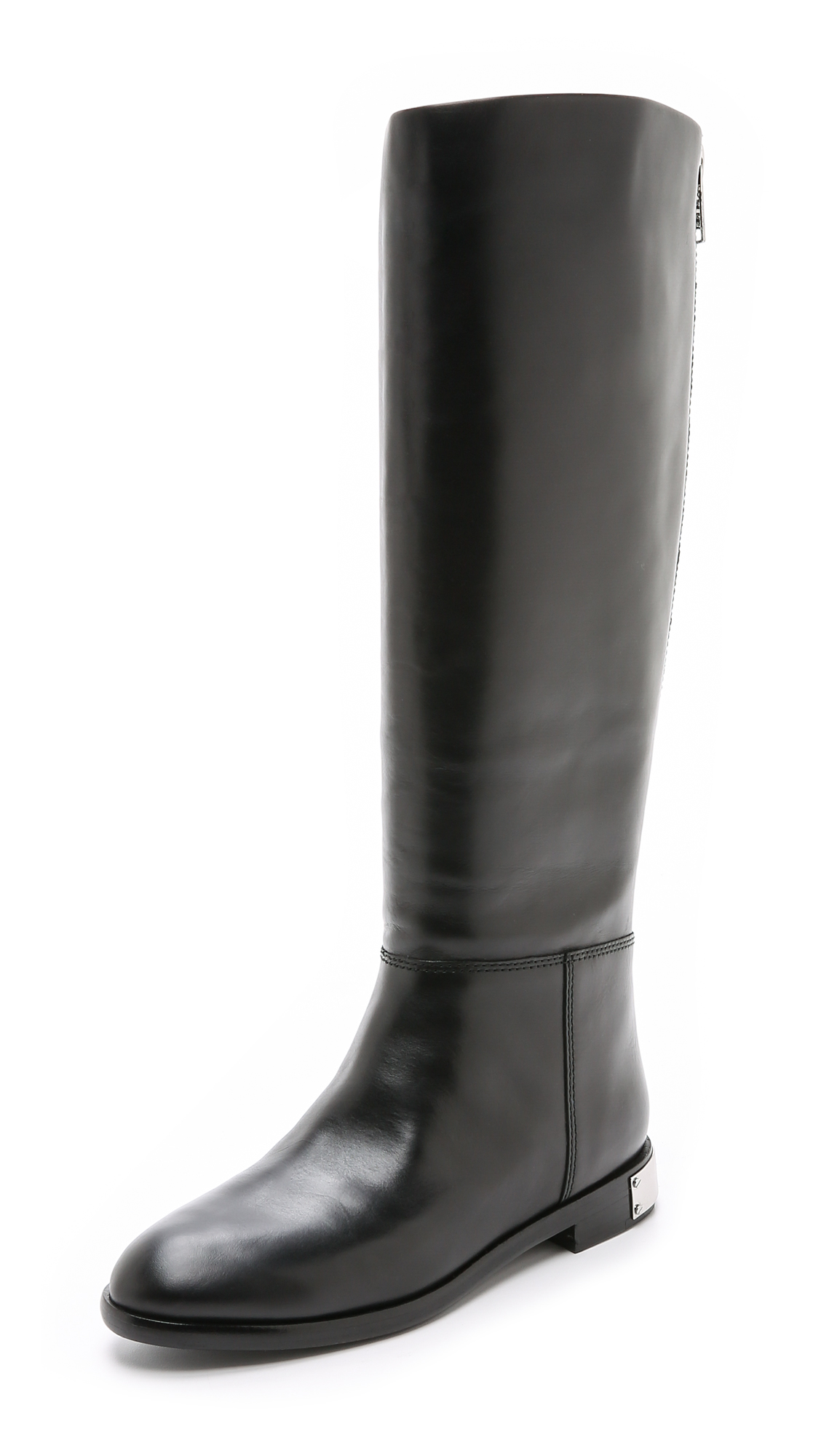 Marc By Marc Jacobs Woman Kip Leather Knee Boots Black