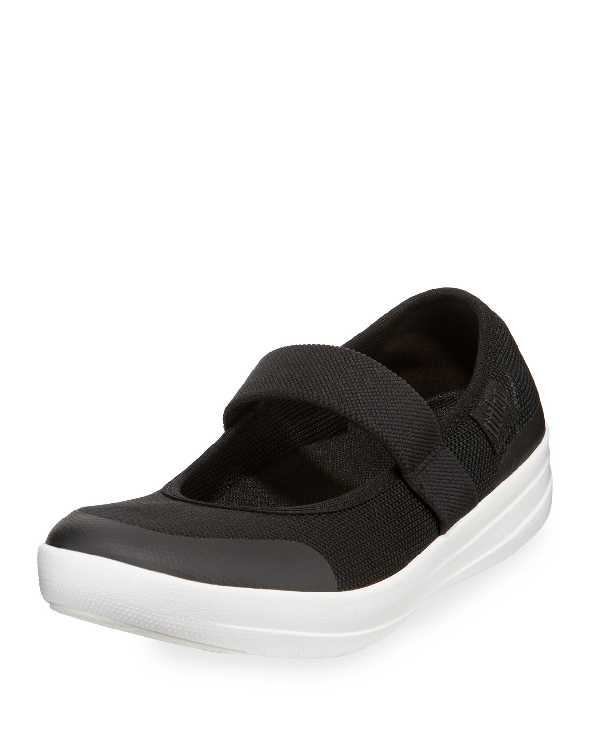 2526f39c184311 Fitflop Uberknit Mary Jane Sneakers In Black