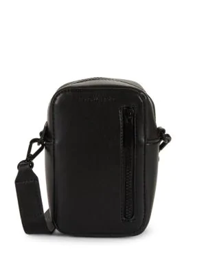 Kendall + Kylie Faux Leather Crossbody Bag In Black