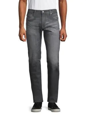 Ag Matchbox Slim Straight Jeans In Five Year