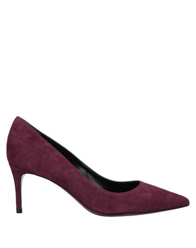 Deimille Pump In Deep Purple