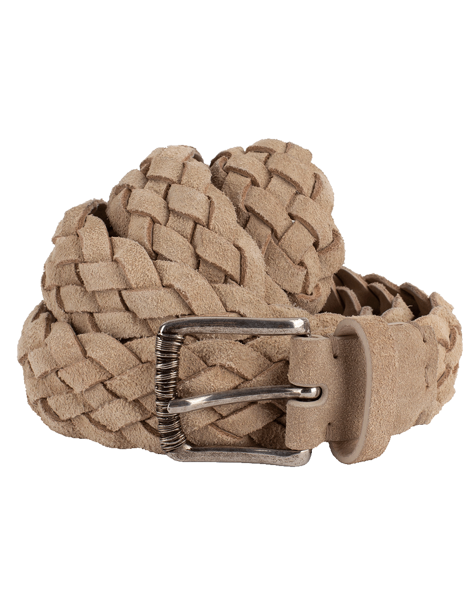 Brunello Cucinelli Braided Belt In Lt-Tan