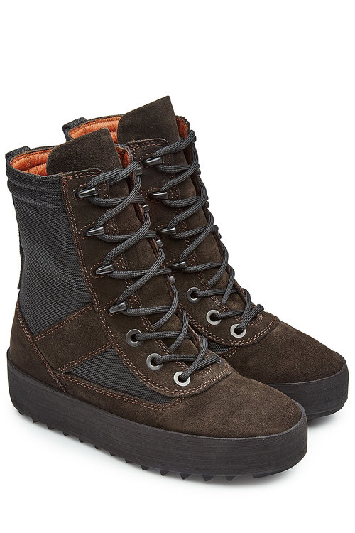 f4345d6b610 Yeezy Military Suede Boots (Season 3) In Oeyx Tame