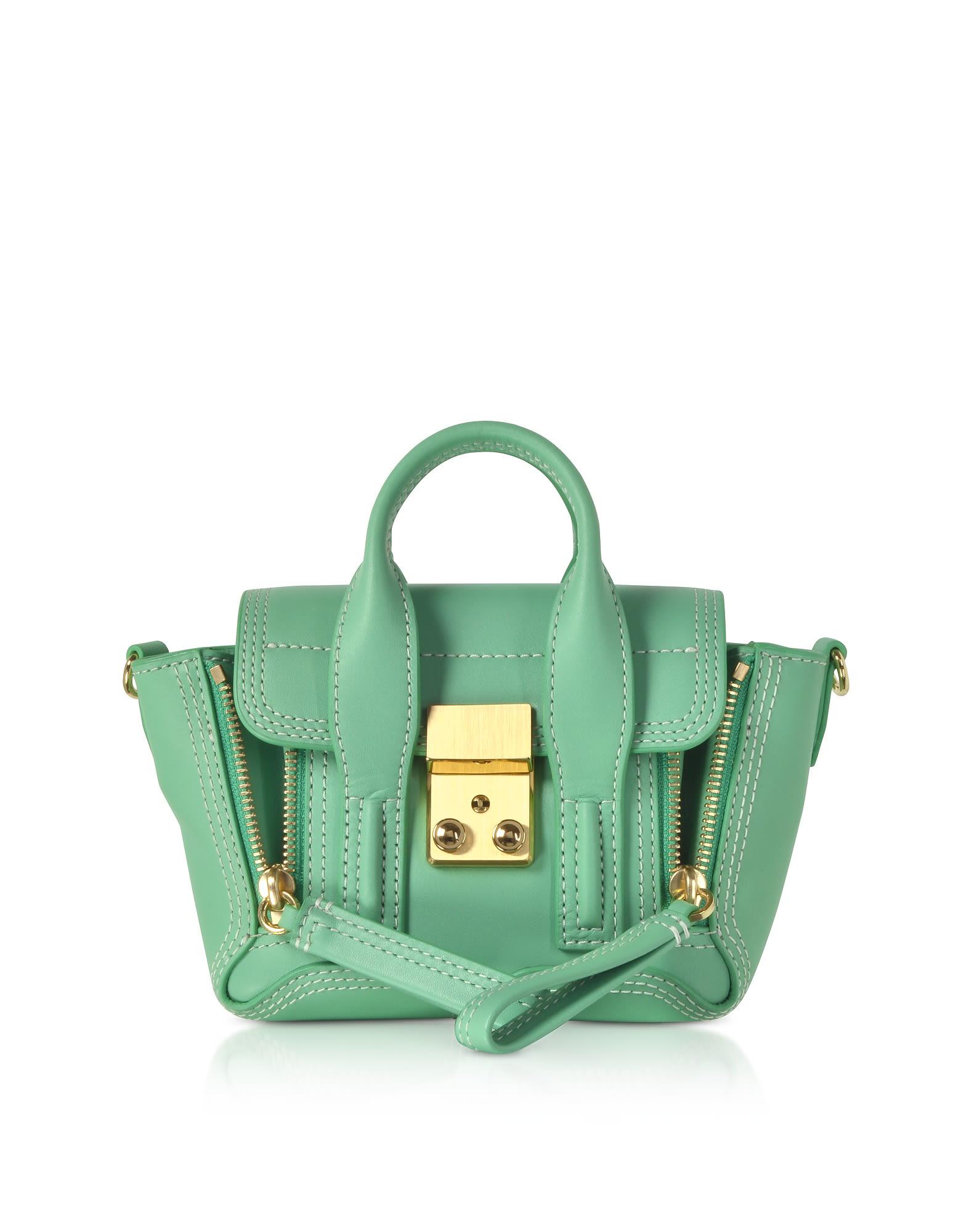 3.1 Phillip Lim Pashli Nano Satchel Bag In Basic