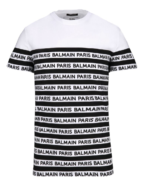 new lifestyle wide varieties new arrival Paris Mariniere Tshirt in White