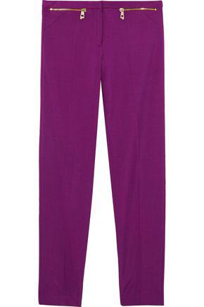 Versace Collection Woman Ponte Skinny Pants Magenta