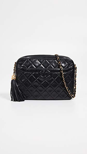 dacfed7f5c4fe6 What Goes Around Comes Around Chanel Medium Pocket Camera Bag In Black