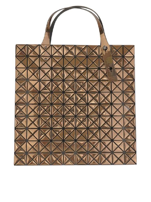 Issey Miyake Tote Bag In Gold