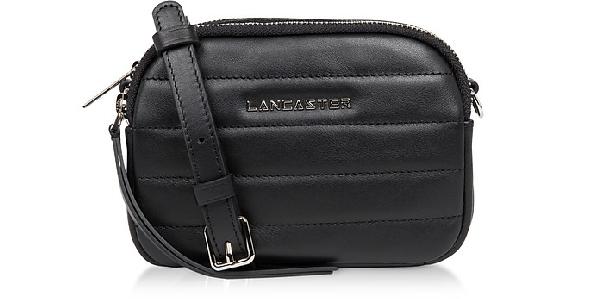 Lancaster Parisienne Couture Mini Crossbody Bag In Black