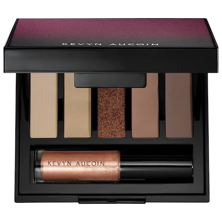 Kevyn Aucoin Emphasize Eyeshadow Design Palette Focused 5 X 0.07 oz/ 2 G In Focused- Copper And Bronzes