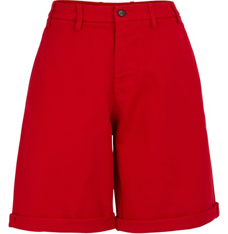 N°21 Cotton Shorts In Red