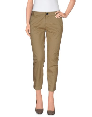Dsquared2 Cropped Pants & Culottes In Khaki