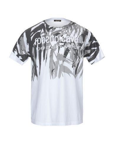 Roberto Cavalli Beachwear T-Shirt In Grey