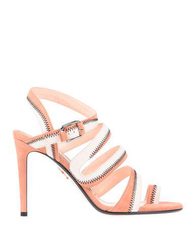 Andrea Gomez Flip Flops In Pale Pink