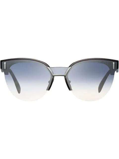 cb5a443f59 Prada Eyewear Prada Hide Eyewear Sunglasses - Brown