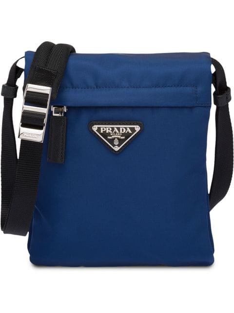 5a5d65c7ead1 Prada Folding Nylon Crossbody Bag In Black   ModeSens