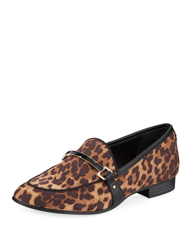 71e0060a0b37 Circus By Sam Edelman Hendricks Leopard-Print Bit Loafers In Multi ...