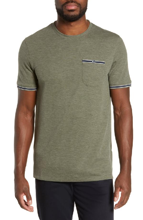 Ted Baker Khaos Slim Fit T-Shirt In Khaki