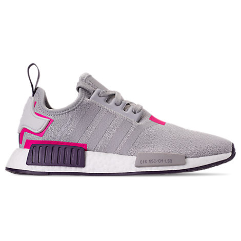 fbb7aeccc3ab9 Adidas Originals Women s Nmd R1 Knit Lace Up Sneakers In Grey