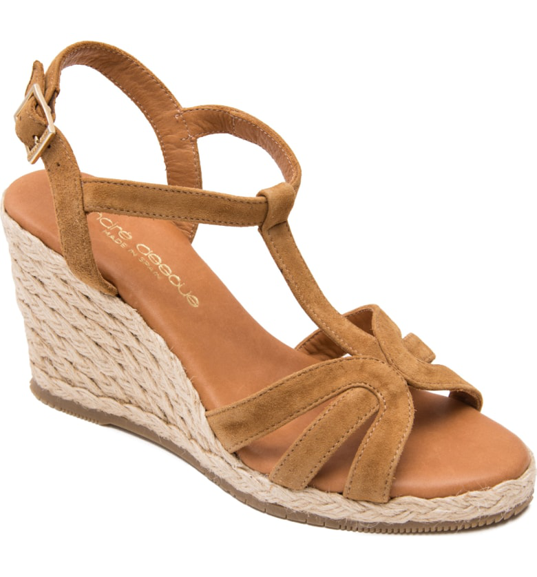 a746a98691a Madina Espadrille Wedge Sandal in Cuero Suede