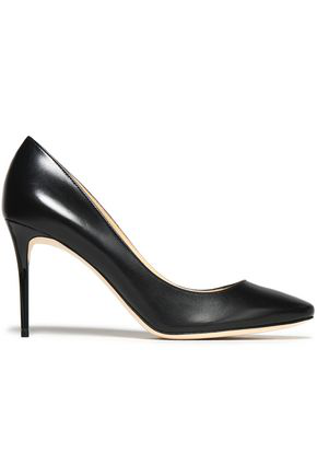 Jimmy Choo Woman Leather Pumps Black