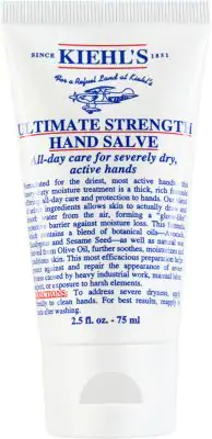 Kiehl's Since 1851 Travel-Size Ultimate Strength Hand Salve, 2.5 Fl. Oz. In No Color