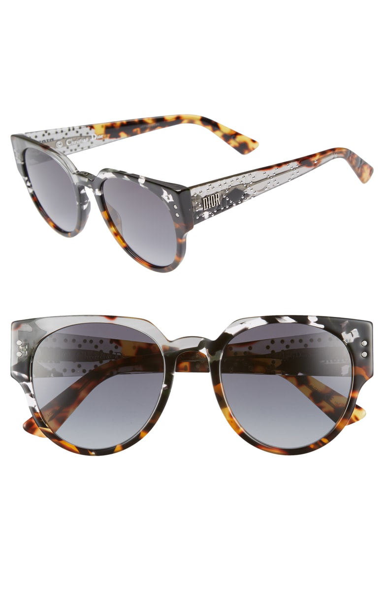 5c61d4d41efa Style Name  Dior Lady Dior 52Mm Cat Eye Sunglasses. Style Number  5614209.  Available in stores.