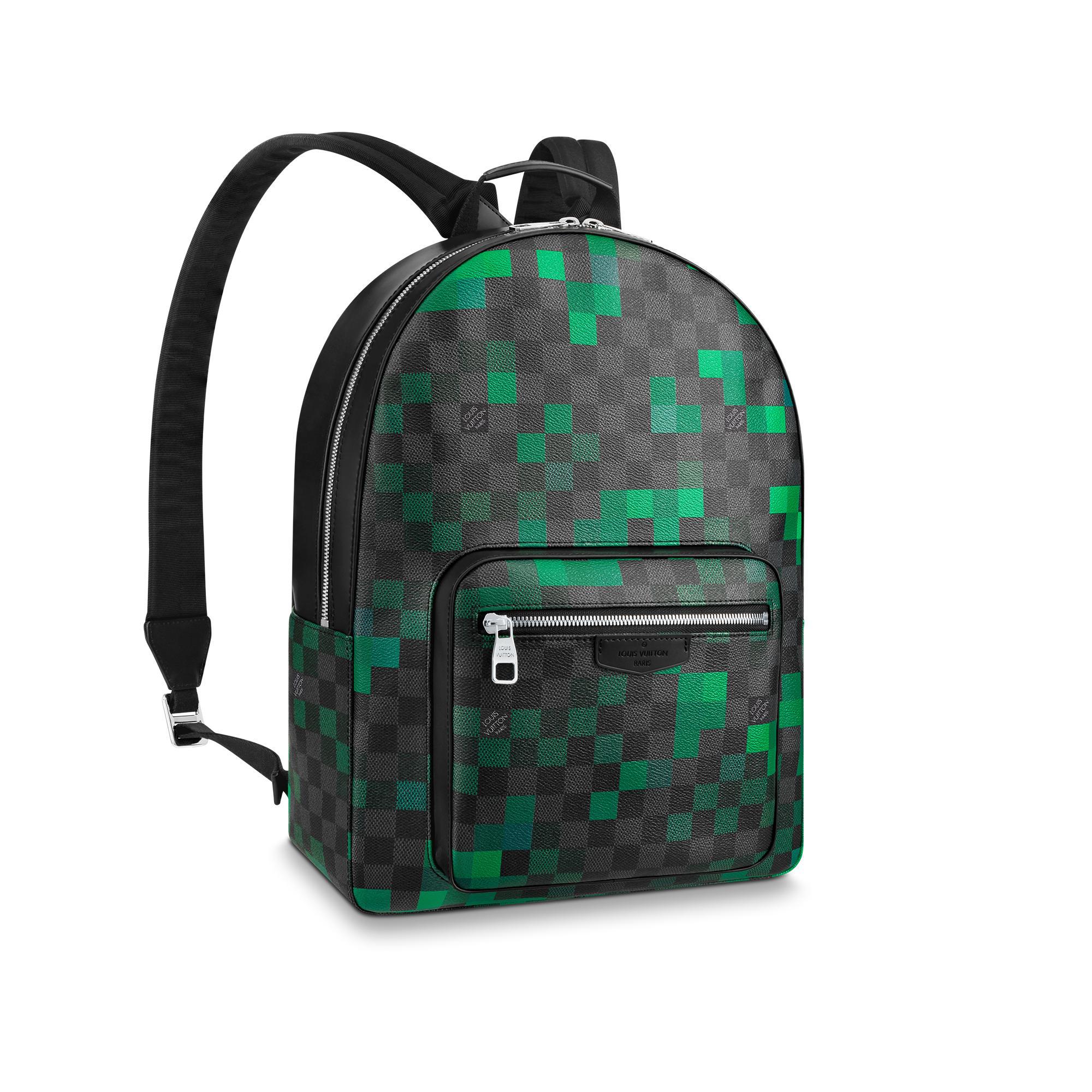 Louis Vuitton Josh Backpack In Damier Graphite Canvas d3e64a0c6fc46