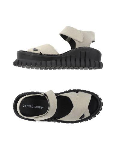 Underground Sandals In Light Grey