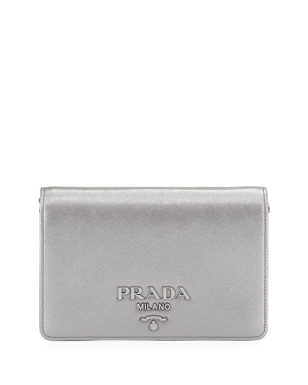 6473e9978d9e Prada Small Monochrome Crossbody Bag