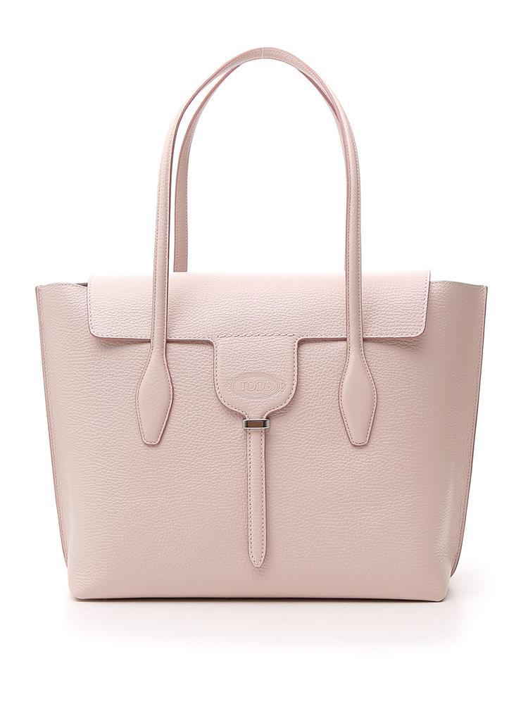 b7dbcaffed Tod's Joy Medium Tote Bag In Pink   ModeSens